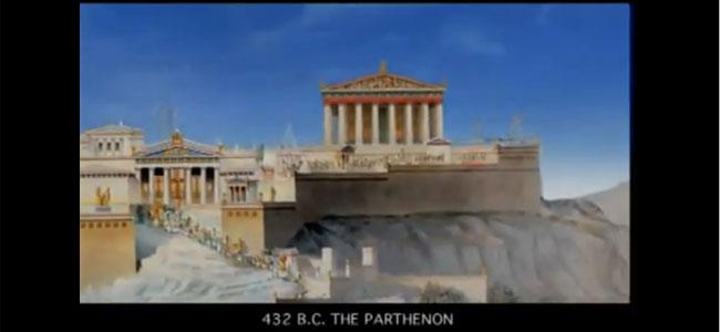Parthenon by Kostas Gavras